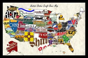 Us Brewery List Brewery Collectibles Club Of America - Us-brewery-map